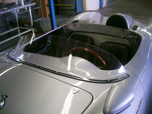 Porsche Parts Full Plexi Windshield Conversion Kit For 550