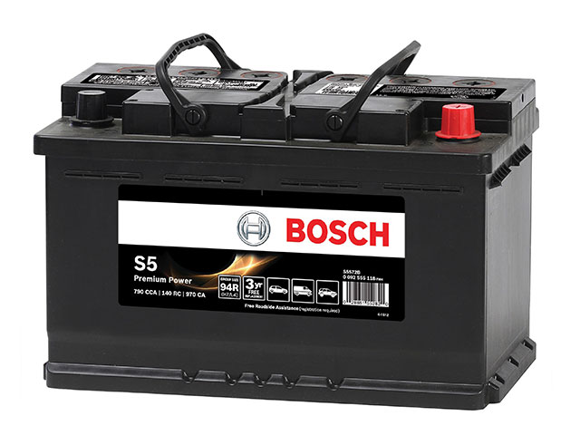 porsche parts battery bosch s5 premium. Black Bedroom Furniture Sets. Home Design Ideas